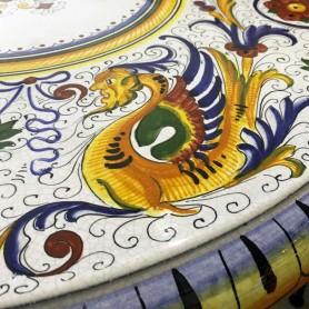 Tavolo in pietra lavica Raffaellesco
