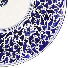 Tavolo in pietra lavica Arabesco Blu