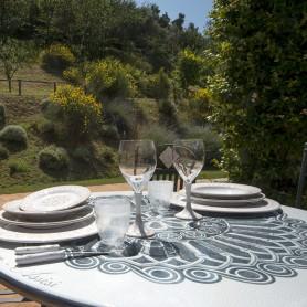 Tavolo in pietra lavica Assisi