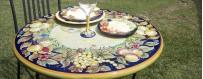 Tavoli Pietra Lavica Dipinti a Mano %separator% %shop-name%