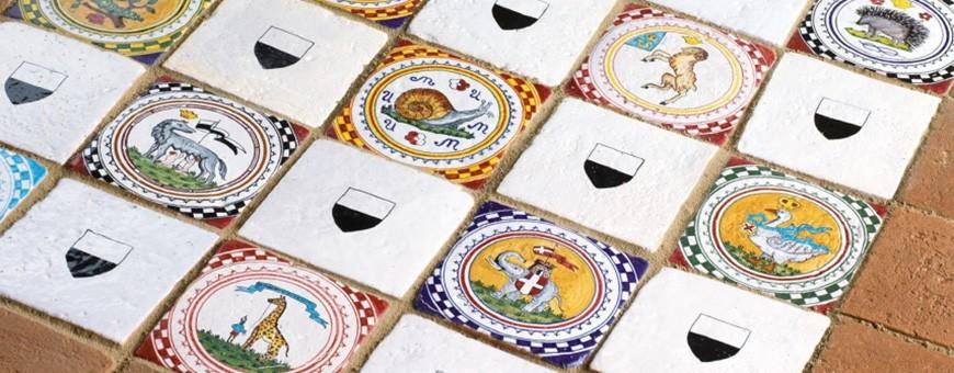 Targhe Fuoriporta e Piastrelle in Ceramica - Mari Ceramiche Deruta