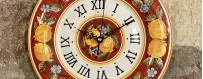 Orologi da Parete in Ceramica Artigianale di Deruta - Mari Ceramiche Deruta
